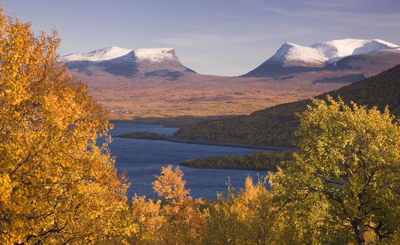 sweden abisko lapporten autumn pr