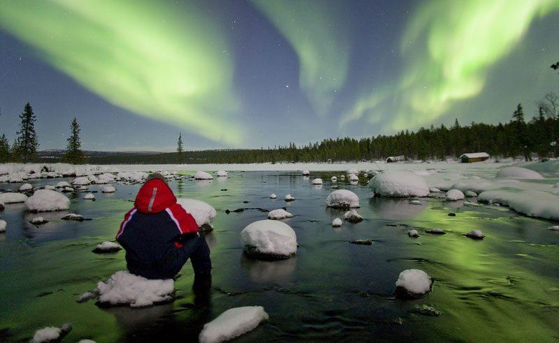 sweden abisko national park aurora watching pr