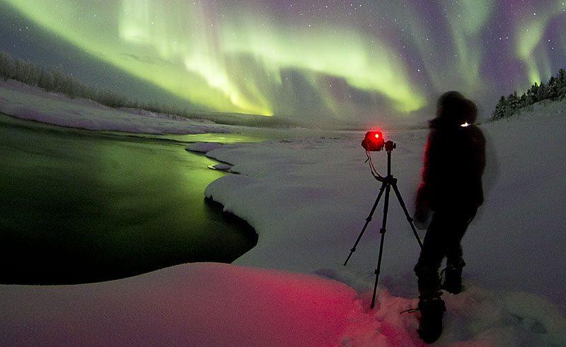 sweden abisko photographer camera pr