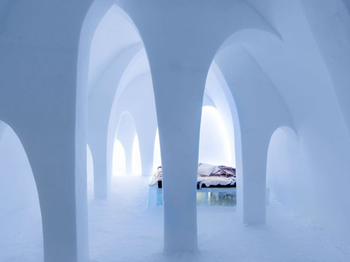 sweden lapland icehotel art suite2016 flying buttress