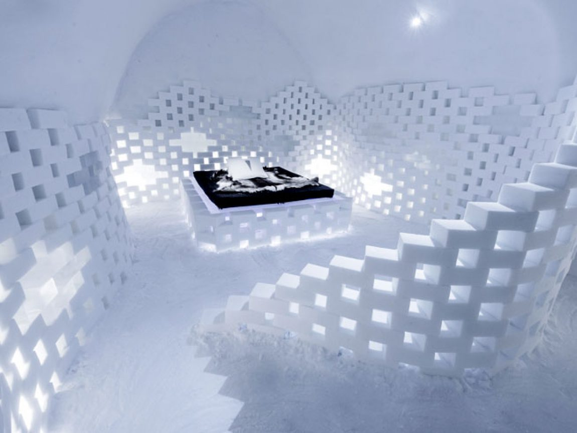 sweden lapland icehotel art suite2017 white cathedral