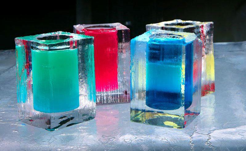 sweden lapland icehotel icebar iceglasses