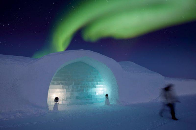 sweden lapland icehotel northern lights rth