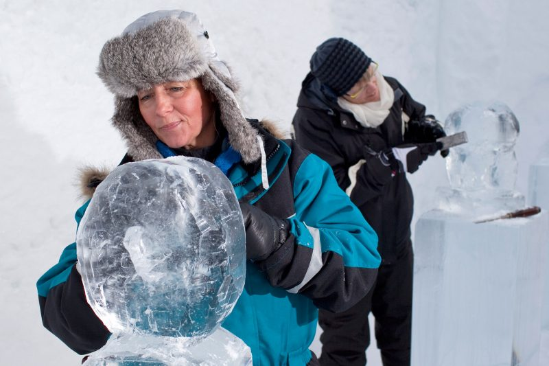 sweden lapland icehotel sculpting rth
