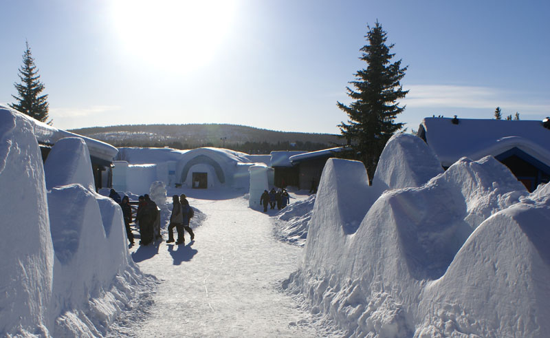 sweden lapland icehotel sun pf