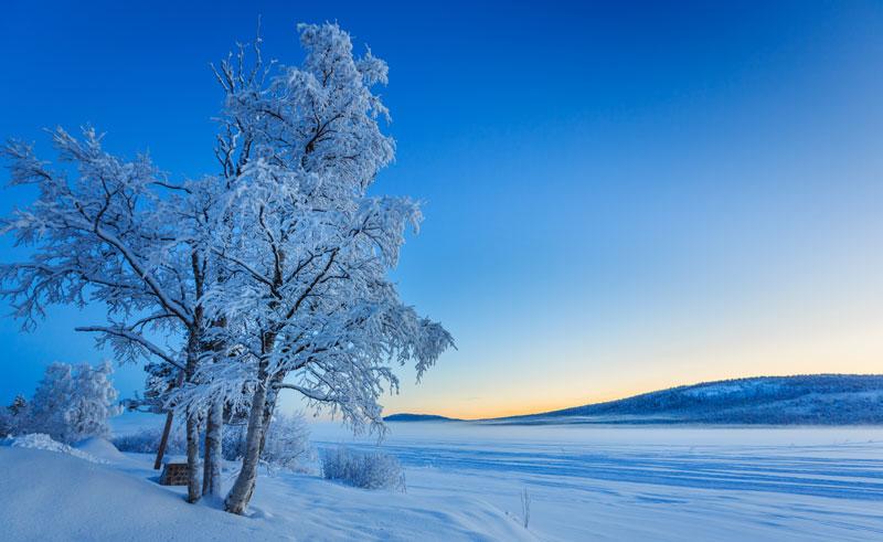 sweden lapland jukkasjarvi frozen lake rth