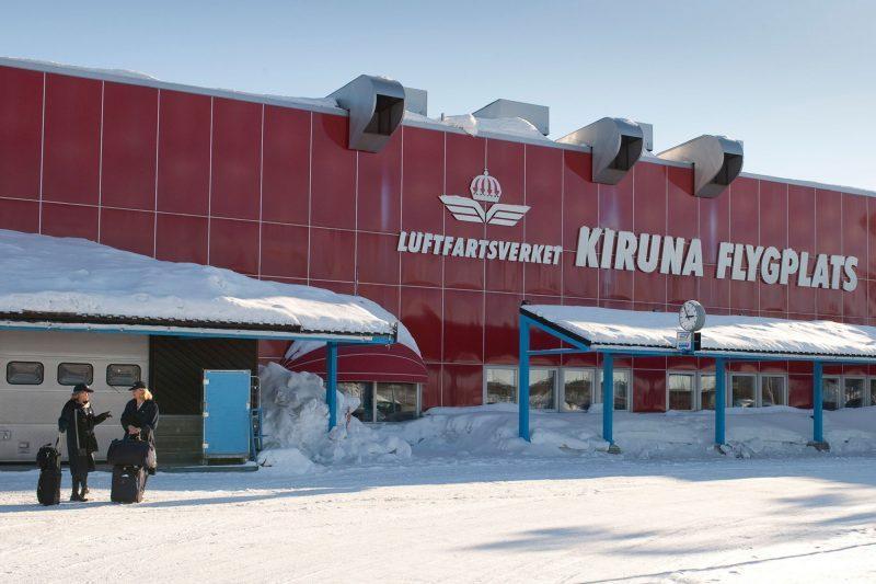 sweden lapland kiruna airport rth