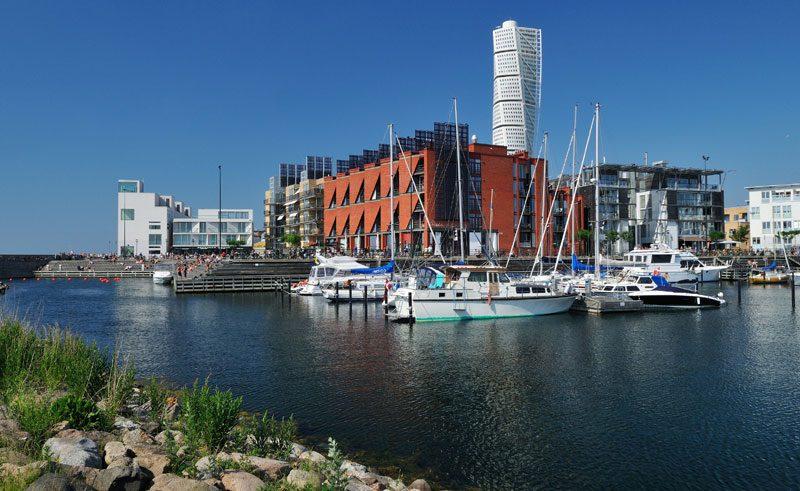sweden skane malmo western harbour vs