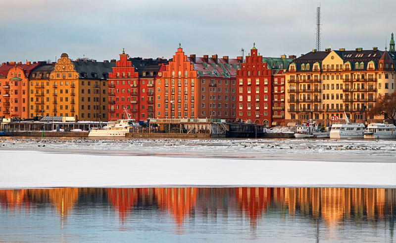 sweden stockholm winter gamla stan istk