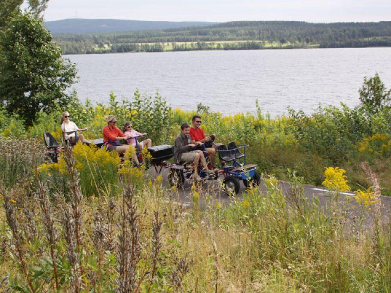 sweden varmland family railway cycle ww