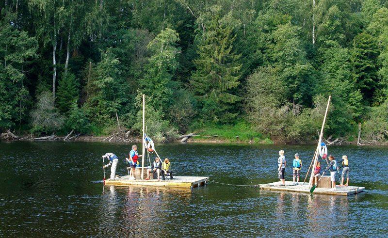 sweden varmland river rafting ww