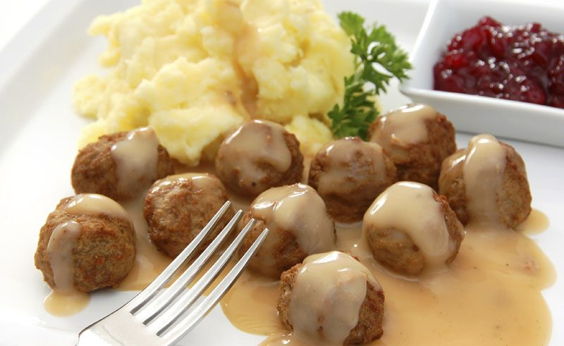 swedish food meatballs istock