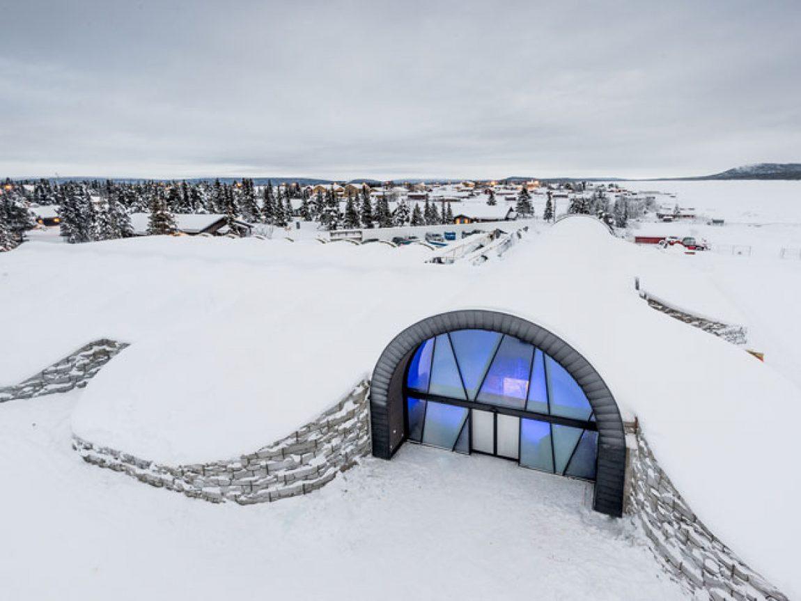 swedish lapland icehotel365 exterior entrance 1617 ih