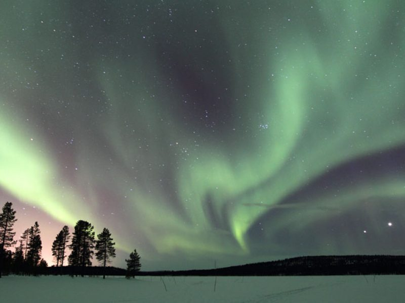 swedish lapland northern lights wg