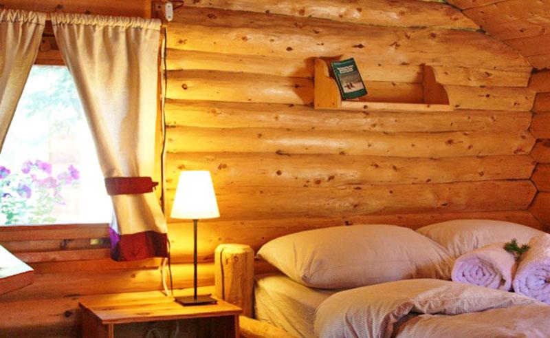 tagish wilderness lodge cosy log cabin
