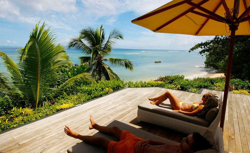 taveuni palms resort beach villa deck