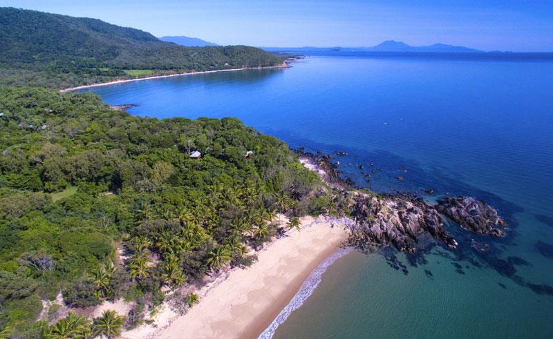 thala beach nature reserve aerial