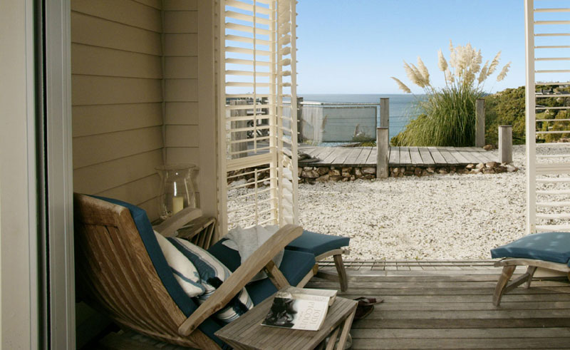 the boatshed suite balcony