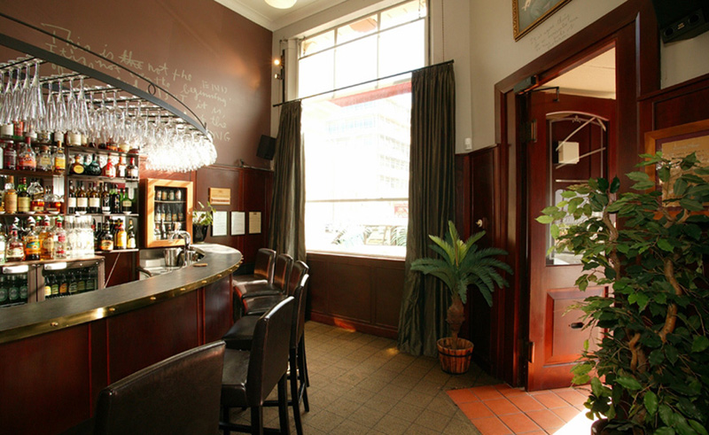the county hotel bar