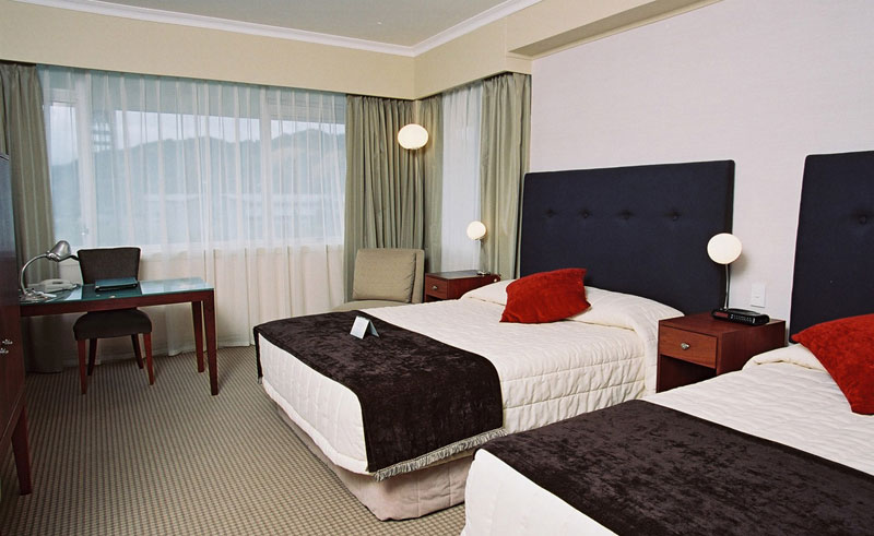 the rutherford guestroom