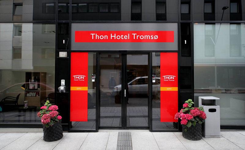 thon hotel tromso exterior