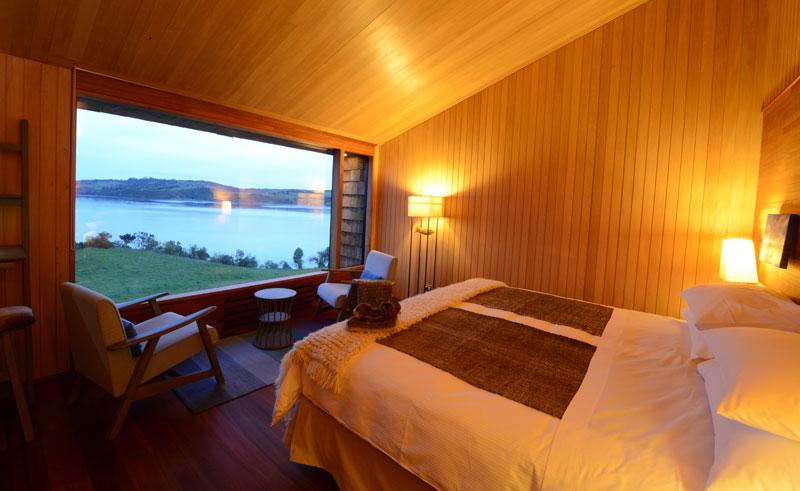 tierra chiloe double room view