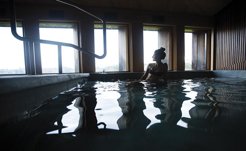 tierra chiloe indoor pool
