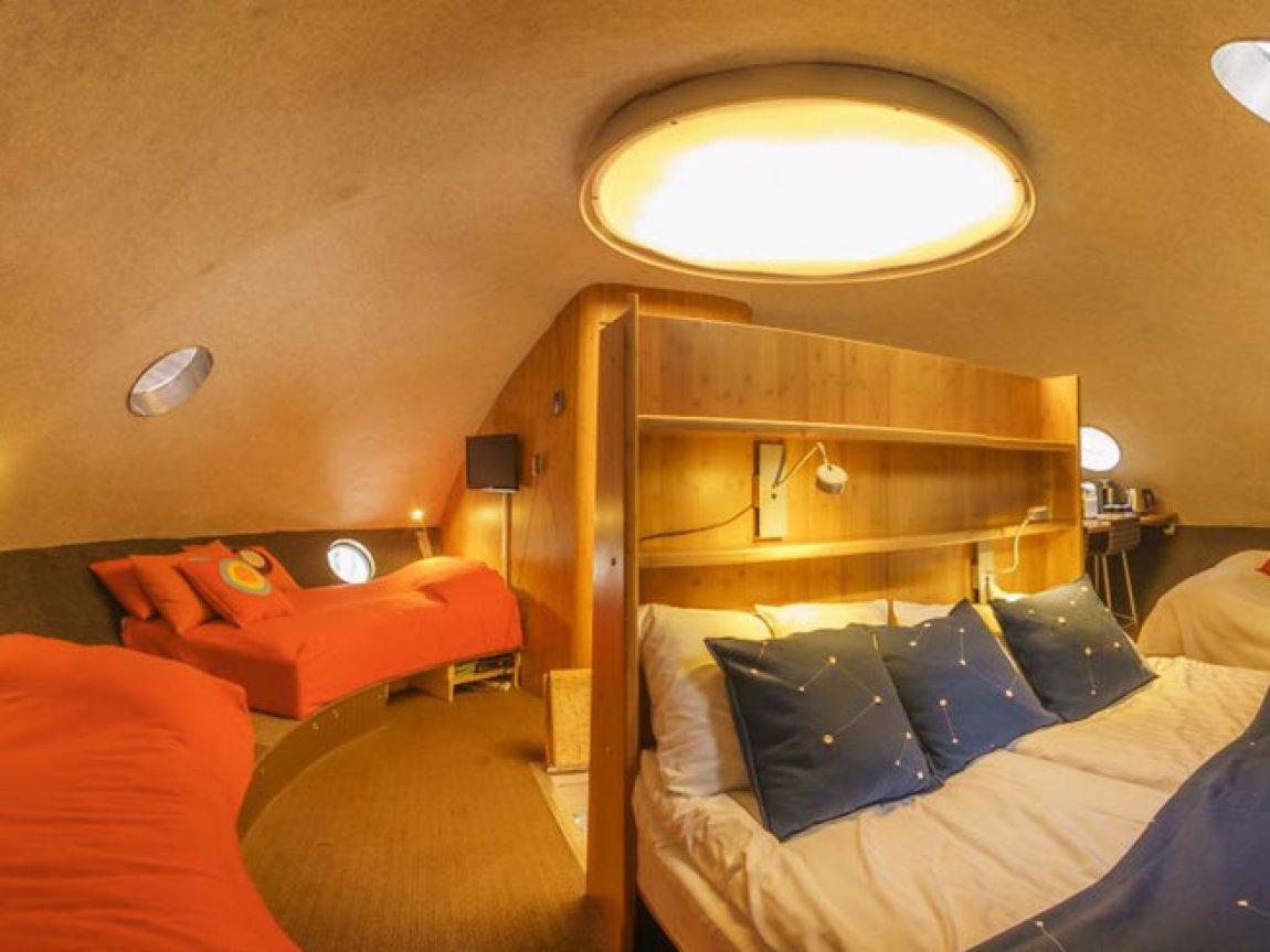 treehotel the ufo interior