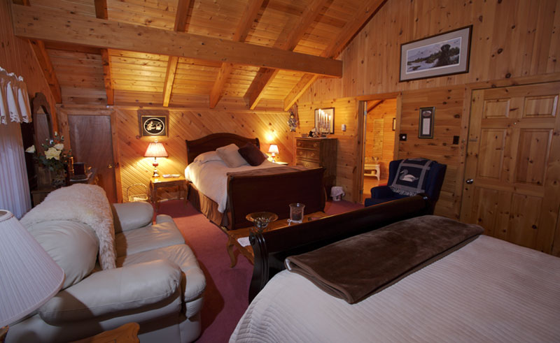tuckamore lodge inside bedroom