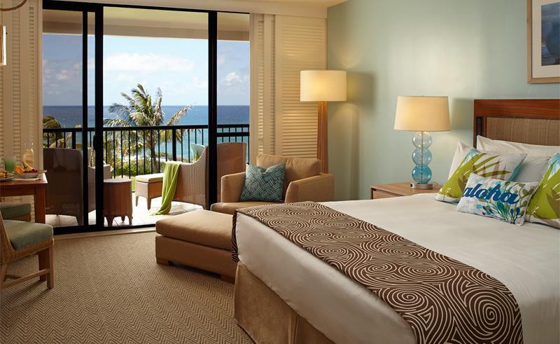 turtle bay resort ocean view room