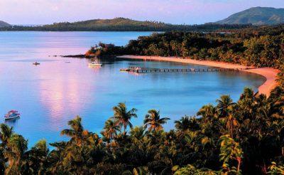 turtle island fiji bay
