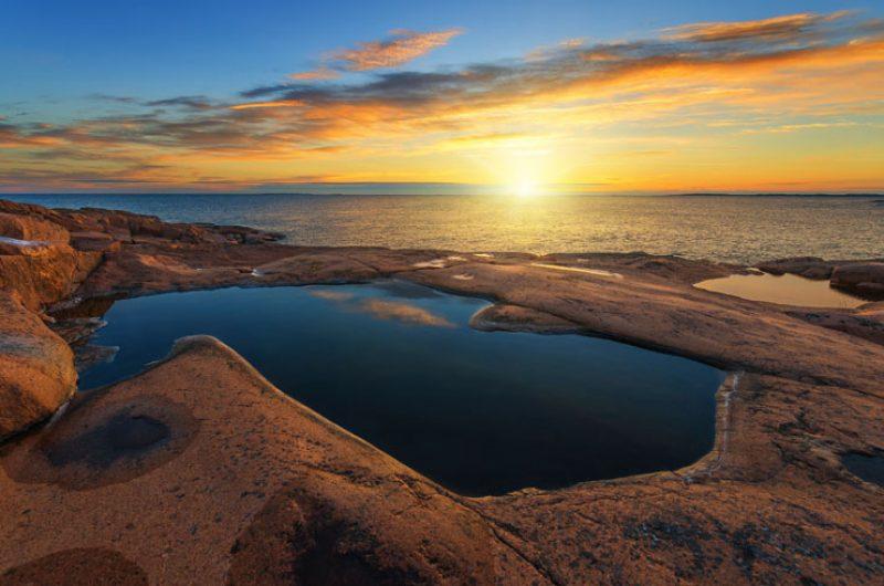 west finland aland islands sunrise istock