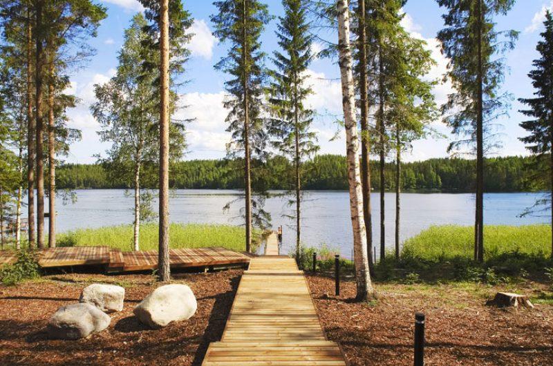 west finland lakeside villa anttolanhovi