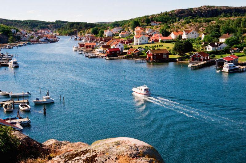 west sweden fishing village istock