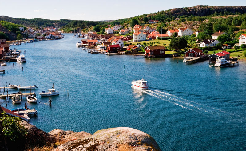 west sweden fishing village istock