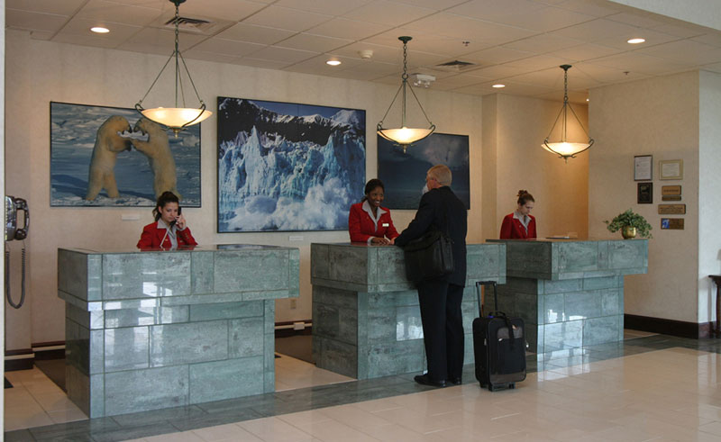westmark fairbanks lobby