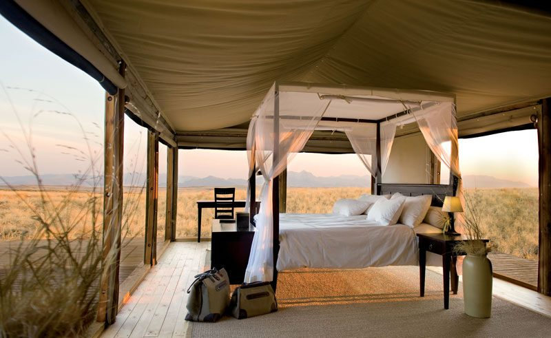 wolwedans dune lodge bedroom interior