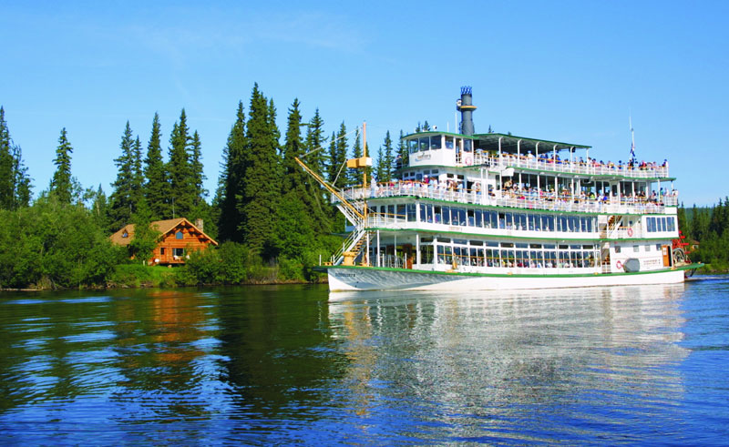 alaska sternwheeler riverboat tour from fairbanks