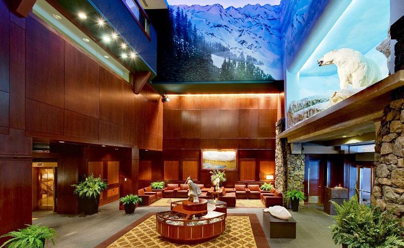 alyeska resort lobby