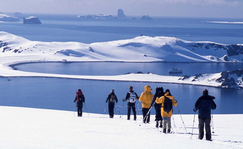 antarctica crosscountry ski qe