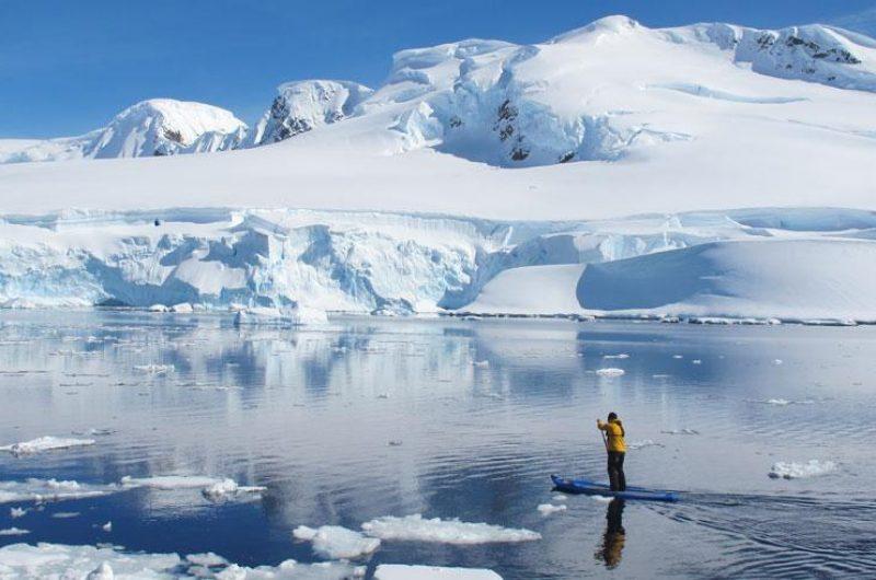 antarctica paddleboarding qe