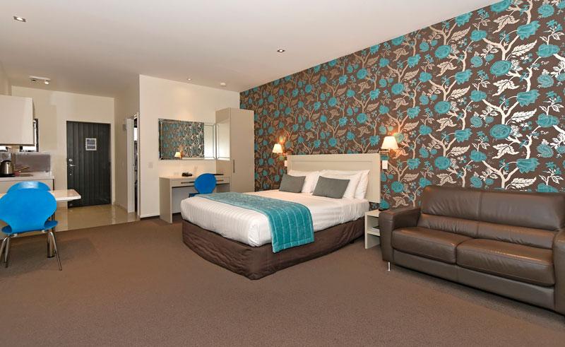 aoraki court motel bedroom studio