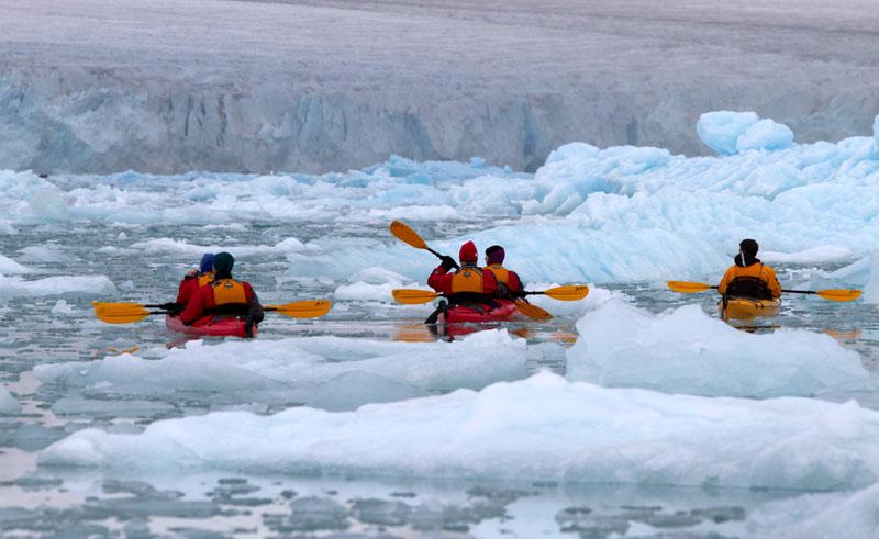 arctic spitsbergen kayaking ga