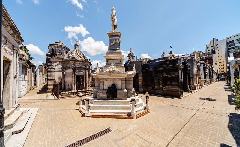 argentina buenos aires recoleta cemetery is