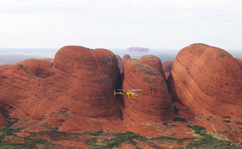 australia kata tjuta helicopter flight