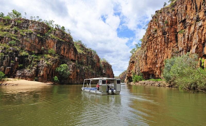 australia nt nitmiluk national park katherine gorge cruise