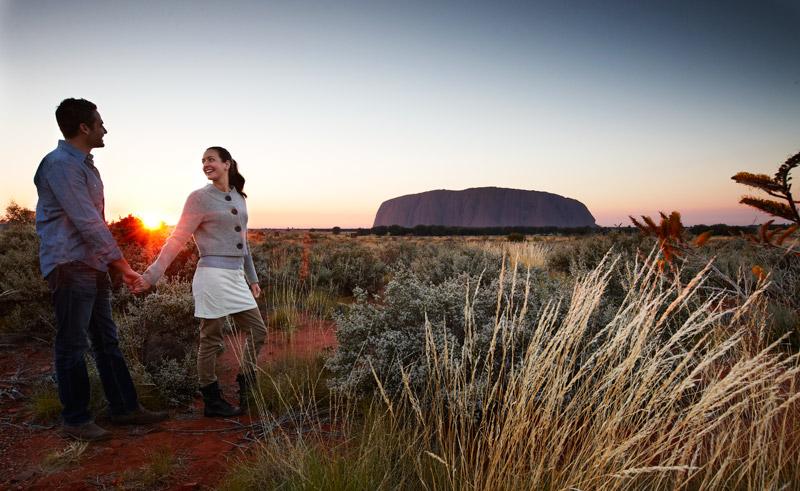 australia nt red centre desert awakenings sunrise lrg