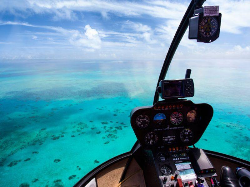 australia qld great barrier reef nautilus aviation scenic flight