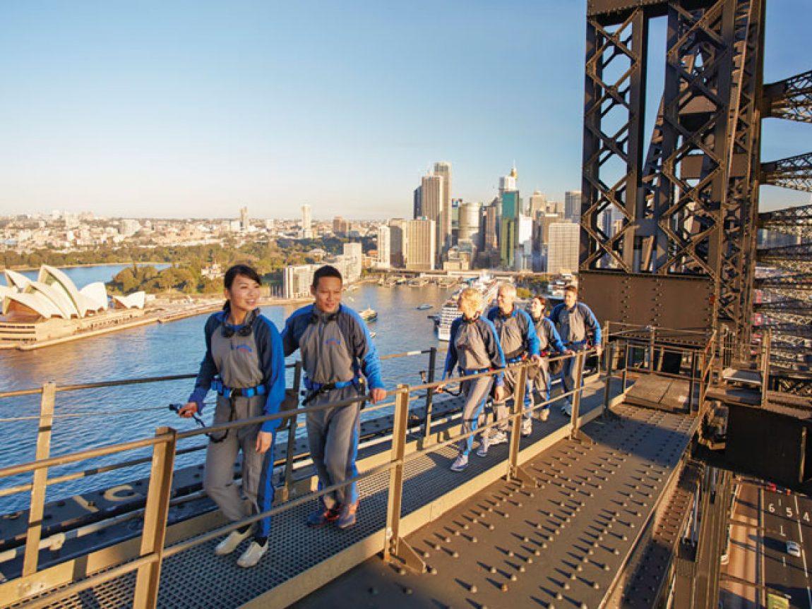 australia sydney harbour bridge climb