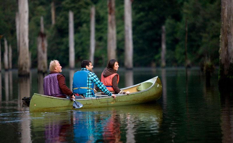 australia victoria great otway national park lake elizabeth canoe tourvic